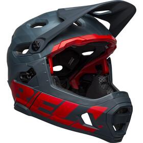 Bell Super DH MIPS Helm prime matte blue/crimson